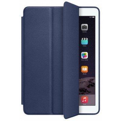 Чехол для планшета Apple для iPad Air 2 Smart Case Midnight Blue MGTT2ZM/A (MGTT2ZM/A)Чехлы для планшетов Apple<br>Для Apple iPad Air 2. Синий. Кожа.<br>