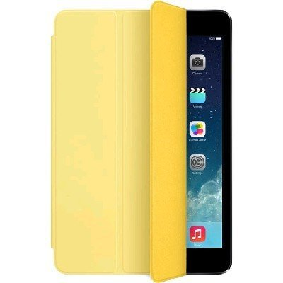 Чехол для планшета Apple iPad mini/mini2 Smart Cover Polyurethane Yellow MF063ZM/A (MF063ZM/A)Чехлы для планшетов Apple<br>Совместим с Apple iPad mini 1/2/3. Желтый. Полиуретан.<br>