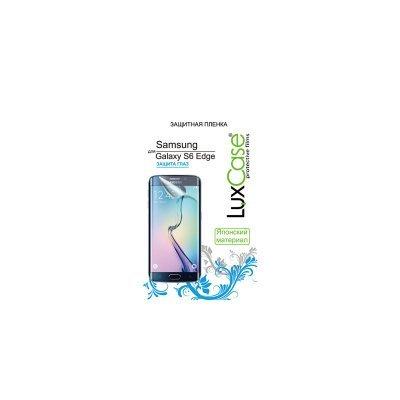 все цены на Пленка защитная для смартфонов LuxCase Samsung Galaxy S6 Edge (Защита глаз) 52535 (52535)