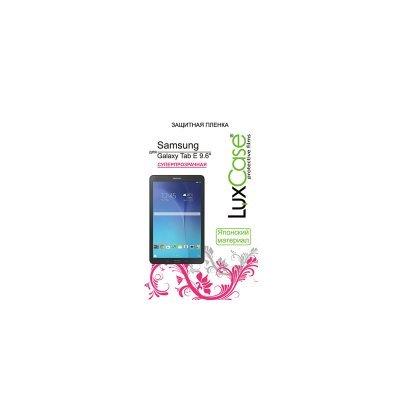 Пленка защитная для планшетов LuxCase Samsung Galaxy Tab E 9.6 (Суперпрозрачная), (52538) планшет samsung galaxy tab e sm t561 sm t561nzkaser