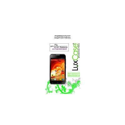 Пленка защитная для смартфонов LuxCase Fly  iQ441 Radiance Антибликовая (50502)Пленки защитные для смартфонов LuxCase<br><br>