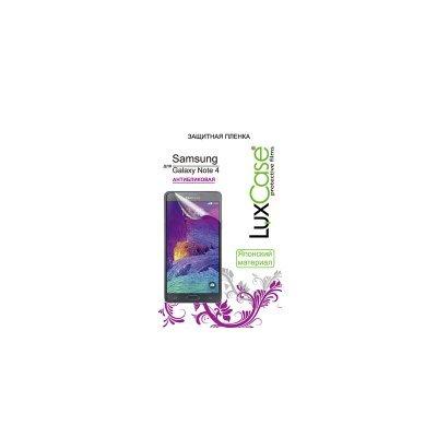 Пленка защитная для смартфонов LuxCase Galaxy Note 4 (Антибликовая), 148х76 мм, SM-N910 (80875)Пленки защитные для смартфонов LuxCase<br><br>