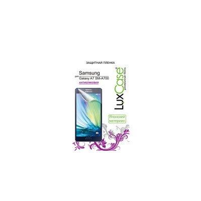 Пленка защитная для смартфонов LuxCase Samsung Galaxy A7 (Антибликовая), 150x75 мм SM-A700F (80891) пленка защитная для смартфонов luxcase для samsung galaxy s6 sm g920f антибликовая 81401