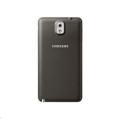 Чехол для смартфона Samsung Galaxy Note 3 (III) GT-N900x ET-BN900SDEGRU Grey (ET-BN900SDEGRU)Чехлы для смартфонов Samsung<br>Для Samsung Galaxy Note 3. Коричневый. Искусственная кожа.<br>Galaxy Note III<br>