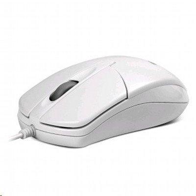 Мышь SVEN RX-112 USB белая (RX-112 USB белая)Мыши SVEN<br>проводная мышь, 800dpi, прорезиненное кольцо прокрутки<br>