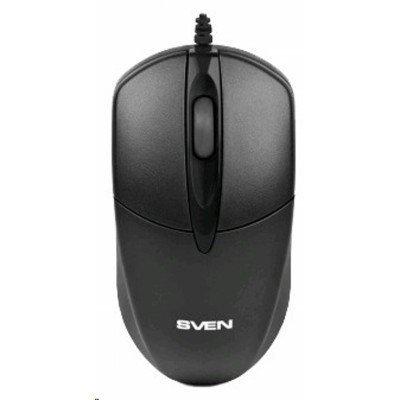 Мышь SVEN RX-112 USB черная (SV-03200112UB) коврик sven ub sv 011130