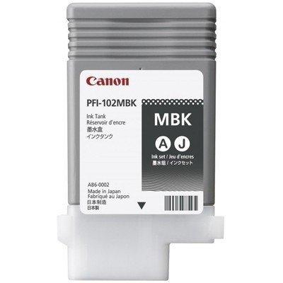 Картридж для струйных аппаратов Canon PFI-107MBK 6704B001 черный (6704B001)Картриджи для струйных аппаратов Canon<br>Картридж Canon PFI-107 MBK для плоттера iPF680/685/780/785. Матовый чёрный. 130 мл.<br>