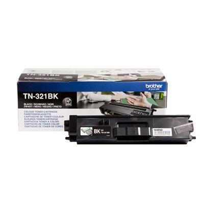 Тонер-картридж для лазерных аппаратов Brother TN321BK черный (TN321BK)Тонер-картриджи для лазерных аппаратов Brother<br>Тонер Картридж Brother TN321BK черный для HL-L8250CDN/MFC-L8650CDW (2500стр.)<br>