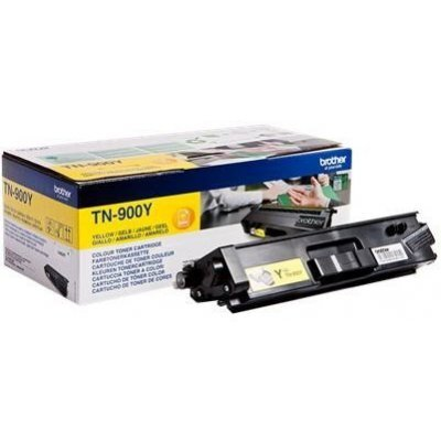 Тонер-картридж для лазерных аппаратов Brother TN900Y желтый (TN900Y) тонер картридж brother lc1000bk