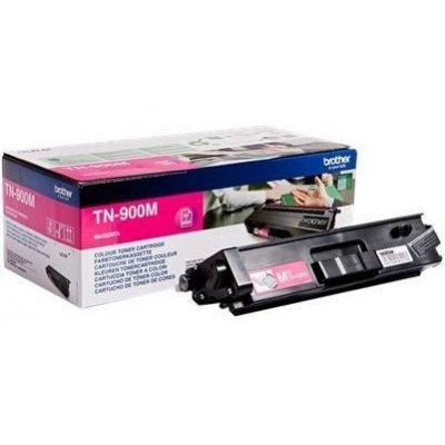 Тонер-картридж для лазерных аппаратов Brother TN900M пурпурный (TN900M) тонер картридж brother lc1000bk