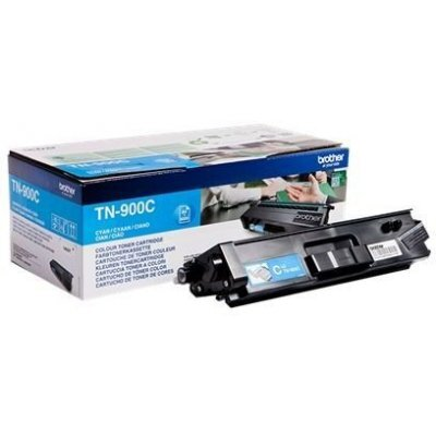 Тонер-картридж для лазерных аппаратов Brother TN900C голубой (TN900C) тонер картридж brother lc1000bk