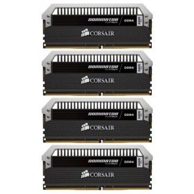 Модуль оперативной памяти ПК Corsair CMD32GX4M4A2400C14 16Gb DDR4 (CMD32GX4M4A2400C14)Модули оперативной памяти ПК Corsair<br>Память DDR4 4x8Gb 2400MHz Corsair (CMD32GX4M4A2400C14) unbuffered Ret<br>
