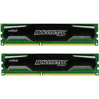 Модуль оперативной памяти ПК Crucial BLS2C4G3D169DS1J 8Gb DDR3 (BLS2C4G3D169DS1J)Модули оперативной памяти ПК Crucial<br>Память Crucial DDR3  8Gb KIT (4GbX2) 1600MHz Ballistix Sport CL9 (BLS2C4G3D169DS1J)<br>