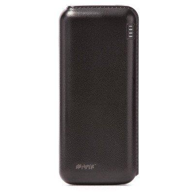 Внешний аккумулятор для портативных устройств HIPER SP12500 черный (SP12500 Black) внешний аккумулятор elari powercard черный
