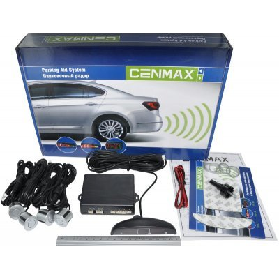 Парктроник Cenmax РS-4.1 SILVER (РS-4.1 SILVER) cenmax ps 6 2 silver