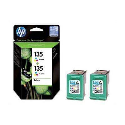Картридж для струйных аппаратов HP CB332HE многоцветный (CB332HE/BL)Картриджи для струйных аппаратов HP<br>Картридж струйный HP CB332HE многоцветный x2уп. для DJ 6543/5743/5740/6843/PS 8153/8453<br>