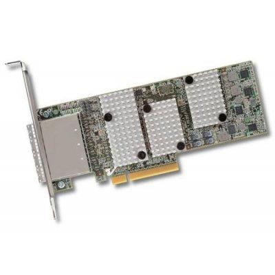 Контроллер RAID LSI 00299 (LSI00299)Контроллеры RAID LSI<br>Контроллер LSI SAS9206-16E SGL (LSI00299) SAS6G, RAID JBOD, 16port (4*extSFF8644), Каб.отдельно<br>