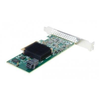 Контроллер SAS LSI 00346 (LSI00346)Контроллеры SAS LSI<br>Контроллер LSI SAS9300-4i (PCI-E 3.0 x8, LP) SGL SAS12G, 4port (1*intSFF8643), Каб.отдельно<br>