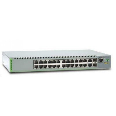 Коммутатор Allied Telesis AT-FS970M/24C-50 (AT-FS970M/24C-50)Коммутаторы Allied Telesis<br>Allied Telesis 24 Port Managed Compact Fast Ethernet Switch. Single AC Power Supply<br>