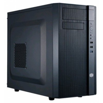 Корпус системного блока CoolerMaster N200 (NSE-200-KKN1) w/o PSU Black (NSE-200-KKN1) корпус zalman x7 black w o psu