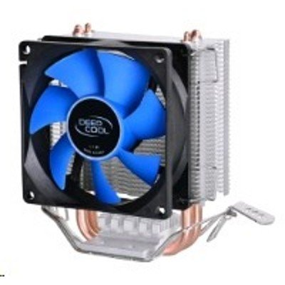 Кулер для процессора DeepCool ICEEDGE MINI FS V2.0 (ICEEDGE MINI FS V2.0)Кулеры для процессоров DeepCool<br>Soc-AMD/775/1150/1155/1156/ 3pin 25dB Al+Cu 95W 248g  RTL<br>