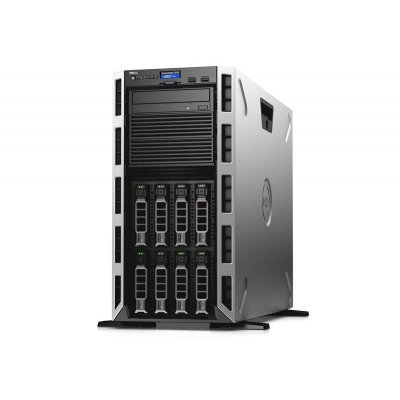 Сервер Dell PowerEdge T430 Tower (T430-ADLR-04T) (T430-ADLR-04T)Серверы Dell<br>no HDD caps/ no CPU(2)/ no memory(2x6)/ no controller/ no HDD(16)SFF/DVDRW/iDRAC8 Ent/ 2xGE/ no RPS(2up)/Bezel/3YBWNBD.<br>