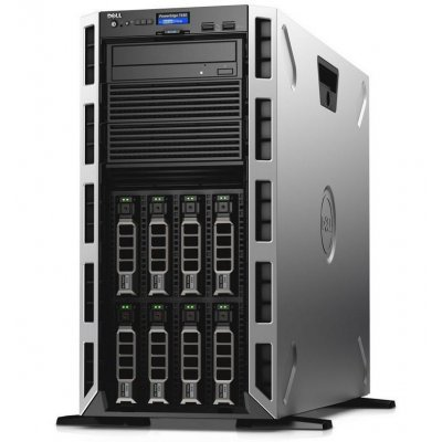 Сервер Dell PowerEdge T430 Tower (T430-ADLR-03T) (T430-ADLR-03T)Серверы Dell<br>no HDD caps/ no CPU(2)/ no memory(2x6)/ no controller/ no HDD(8)LFF/DVDRW/iDRAC8 Ent/ 2xGE/ no RPS(2up)/Bezel/3YBWNBD.<br>