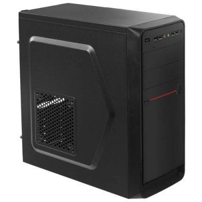 Корпус системного блока ACCORD D-50 черный w/o PSU (ACC-D50) корпус nzxt phantom 630 черный w o psu atx 2xusb2 0 2xusb3 0 audio cardreader front door bott psu