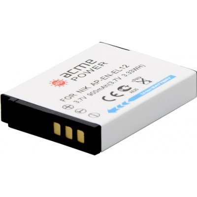 Аккумулятор для фотоаппарата AcmePower AP-EN-EL12 1050mAh 3.7V Li-Ion (AP-EN-EL12)