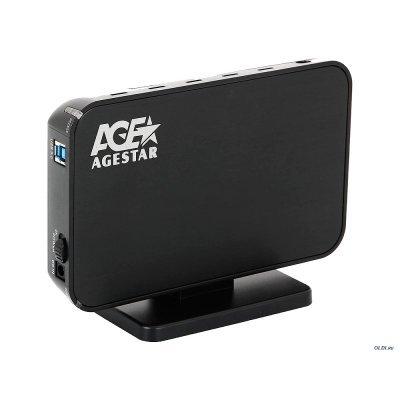 все цены на Корпус для жесткого диска Agestar 3UB3A8-6G (BLACK) (3UB3A8-6G (BLACK)) онлайн