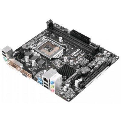 Материнская плата ПК ASRock H81M-DG4 (H81M-DG4)Материнские платы ПК ASRock<br>Материнская плата Asrock H81M-DG4 Soc-1150 Intel H81 2xDDR3 mATX AC`97 6ch(5.1) GbLAN+VGA+DVI<br>