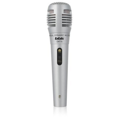 Микрофон BBK CM114 серебристый (CM114 серебристый)