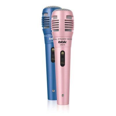 Микрофон BBK CM215 синий/розовый (CM215 синий/розовый)