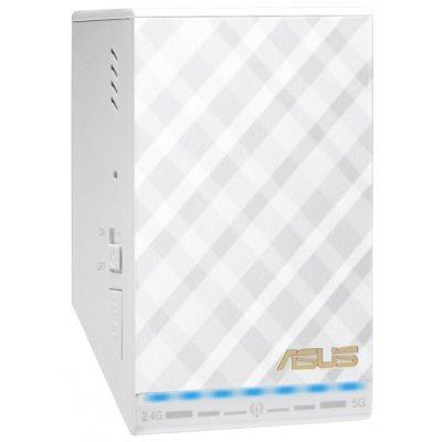 Wi-Fi точка доступа ASUS RP-AC52 (RP-AC52)Wi-Fi точки доступа ASUS<br>Wi-Fi-усилитель сигнала (репитер)<br>    стандарт Wi-Fi: 802.11a/b/g/n/ac<br>    макс. скорость: 733 Мбит/с<br>    скорость портов 100 Мбит/сек<br>