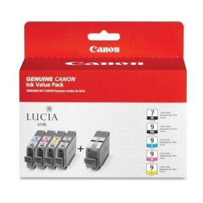 Картридж для струйных аппаратов Canon PGI-9 PBK/C/M/Y/GY для PIXMA Pro9500 (1034B013) картридж для струйных аппаратов canon pgi 2400xl c для maxify ib4040 мв5040 и мв5340 голубой 9274b001 9274b001