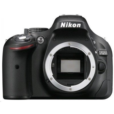 Цифровая фотокамера Nikon D5200 Kit Af-s 18-55 VR II + 55-200 VR II (VBA350KR11)Цифровые фотокамеры Nikon<br>Фотоаппарат Nikon D5200 Black DBLKIT &amp;lt;DX 18-55 VR II +  55-200 VR II, 24.1Mp, 3.2 WiFi, GPS&amp;gt;<br>