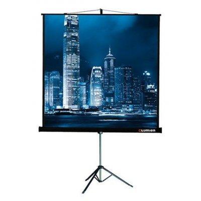 Проекционный экран Lumien LMV-100103 (LMV-100103)Проекционные экраны Lumien <br>Экран на треноге Lumien 180x180см Master View LMV-100103 1:1 напольный рулонный<br>