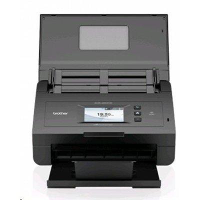 Сканер Brother ADS-2600WE (ADS2600WER1)Сканеры Brother<br>протяжный сканер, формат A4<br>    интерфейс USB 2.0, Ethernet<br>    разрешение 600x600 dpi<br>    двустороннее устройство автоподачи<br>    датчик типа CIS<br>