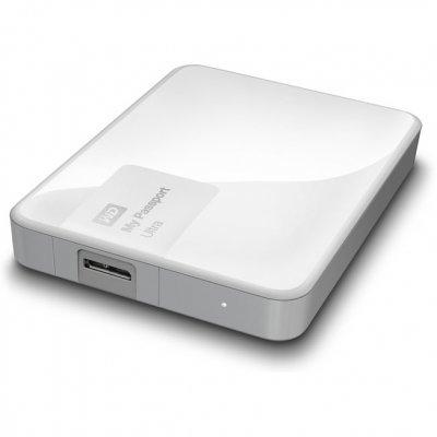 Внешний жесткий диск Western Digital WDBNFV0020BWT-EEUE 2Tb белый (WDBNFV0020BWT-EEUE)Внешние жесткие диски Western Digital<br>Внешний диск 2.5 2TB WD My Passport Ultra White<br>