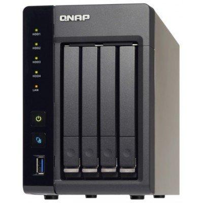 Сетевой накопитель NAS Qnap TS-453S Pro (TS-453S Pro)Сетевые накопители NAS Qnap<br>Сетевой накопитель QNAP TS-453S Pro 4 отсека для HDD 2,5, HDMI-порт. Четырехъядерный Intel Celeron J1900 2,0 ГГц<br>