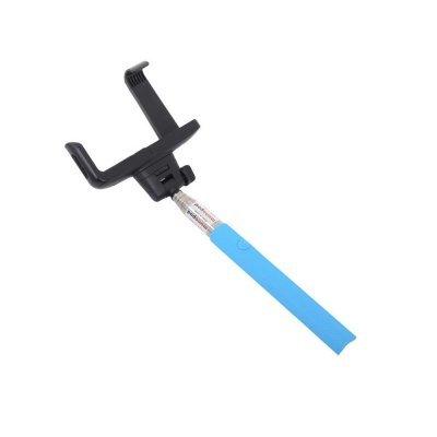 Монопод LP MPD-2 с Bluetooth кнопкой съемки для телефонов синий (0L-00000477)Моноподы для селфи LP<br>Монопод для селфи телескопический LP MPD-2 с Bluetooth кнопкой съемки для телефонов (1,2 м/голуб.)<br>Совместимость устройства с шириной от 60 до 75 мм, гнездо камеры 1/4 дюйма<br>Максимальная длина 1005 мм<br>Нагрузка 500 г<br>Тип упаковки коробка ПВХ<br>Вес в упаковке 230 г<br>Размеры упаковки 298х106х36 мм<br>П ...<br>