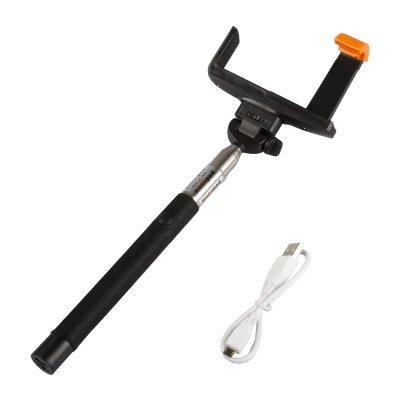 Монопод LP MPD-2 с Bluetooth кнопкой съемки для телефонов черный (R0006060)Моноподы для селфи LP<br>Монопод для селфи телескопический LP MPD-2 с Bluetooth кнопкой съемки для телефонов (1,2 м/черный)<br>Совместимость устройства с шириной от 60 до 75 мм, гнездо камеры 1/4 дюйма<br>Максимальная длина 1005 мм<br>Нагрузка 500 г<br>Тип упаковки коробка ПВХ<br>Вес в упаковке 230 г<br>Размеры упаковки 298х106х36 мм<br>П ...<br>