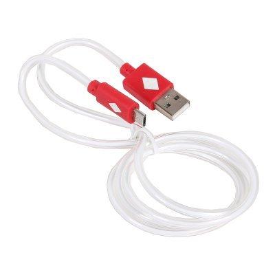 Кабель USB 3Cott 3C-CLDC-066BR-MUSB 1 м, красный (3C-CLDC-066BR-MUSB)