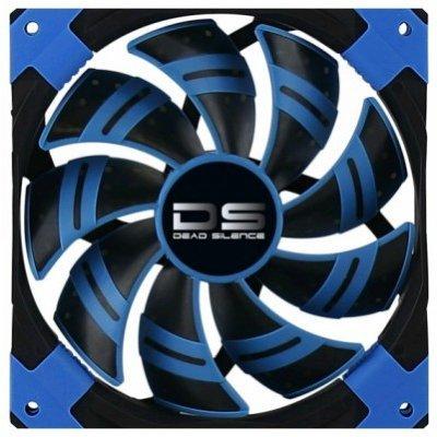 Система охлаждения корпуса ПК Aerocool DS 14cm синяя подсветка (4713105951622)Системы охлаждения корпуса ПК Aerocool<br>Вентилятор Aerocool DS 14см Blue (синяя подсветка), 3+4 pin, 64.8 CFM, 1000 RPM, 14.2 dBA при 12V и 39.8 CFM, 700 RPM, 10.8 dBA при 7V<br>