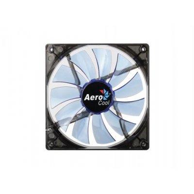 Система охлаждения корпуса ПК Aerocool Lightning 14cm Blue LED (4713105951400)Системы охлаждения корпуса ПК Aerocool<br>Вентилятор Aerocool Lightning 14см Blue Edition (синяя подсветка), 3+4 pin, 48 CFM, 1200 RPM, 22 dBA<br>