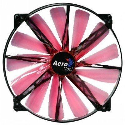 Система охлаждения корпуса ПК Aerocool Lightning 20cm Red LED (4713105951387)