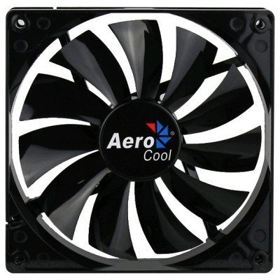 Система охлаждения корпуса ПК Aerocool Dark Force 14cm Black Fan (4713105951349)Системы охлаждения корпуса ПК Aerocool<br>Вентилятор Aerocool Dark Force 14см Black (без подсветки), 3+4 pin, 48 CFM, 1200 RPM, 22 dBA<br>