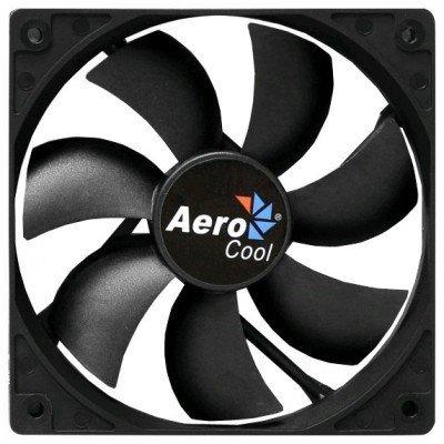Система охлаждения корпуса ПК Aerocool Dark Force 12cm Black Fan (4713105951332)Системы охлаждения корпуса ПК Aerocool<br>Вентилятор Aerocool Dark Force 12см Black (без подсветки), 3+4 pin, 41.4 CFM, 1200 RPM, 22.5 dBA<br>