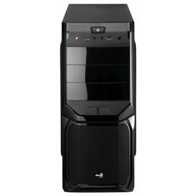 Корпус системного блока Aerocool V3X Advance Evil Black Edition 600W Black (4713105954500)Корпуса системного блока Aerocool<br>Корпус Aerocool V3X Advance Evil Black Edition, ATX, 600Вт, USB 3.0 , коннекторы 2x PCI-E (6+2-Pin), 4x SATA, 3x MOLEX, 1x 4+4-Pin<br>
