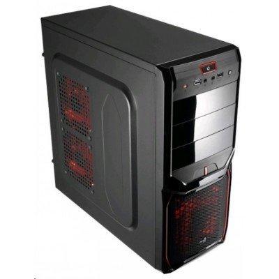Корпус системного блока Aerocool V3X Advance Devil Red Edition 600W Black (EN57592)